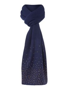 Dents Pin stud scarf