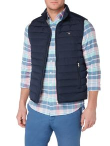 Gant Zip-Through Padded Gilet
