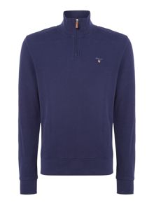 Gant Honey-Comb Half-Zip Sweatshirt