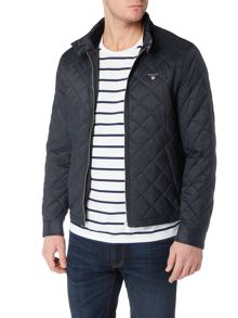 Gant Quilted Zip-Through Jacket