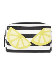Therapy Lemon make up bag