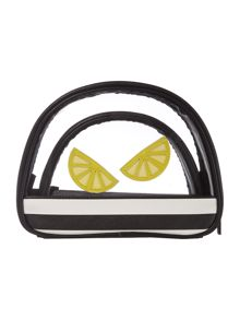 Therapy Isabella triple cosmetic bag