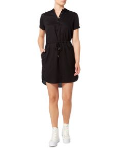 Calvin Klein Dacey short sleeve shirt dress