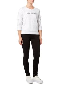 Calvin Klein Harley metallic logo sweat