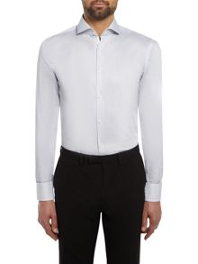Hugo Boss Jerrin Slim Fit Fine Stripe Contrast Shirt
