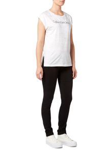 Calvin Klein Tika tank tee in bright white