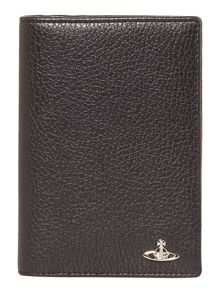 Vivienne Westwood Milano Leather Passport Holder