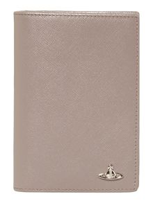 Vivienne Westwood Kent Saffiano Passport Holder