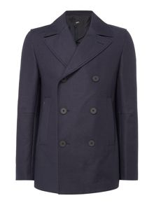 Hugo Boss Namid Textured Peacoat