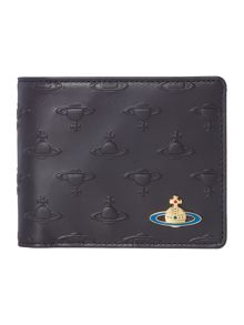 Vivienne Westwood All Over Orb Print Leather Wallet