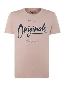 Jack & Jones Large-Logo Short Sleeve T-shirt