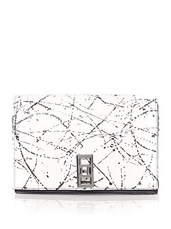 Elvie paint shoulder bag