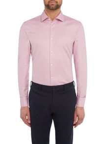 Hugo Boss Jenno Slim Fit Tonal Textured Shirt