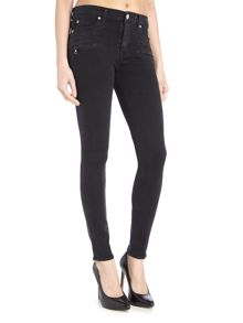 Hudson Jeans Roe midrise ankle superskinny jeans in assilant