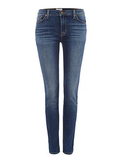 Nico midrise superskinny jeans in grave