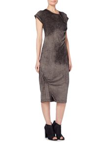 Label Lab Devore wash zip dress