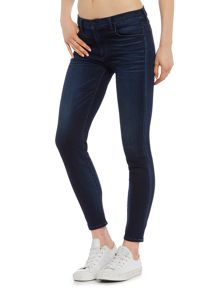 Hudson Jeans Krista ankle brushed cotton jeans in recruit