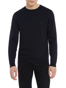 Hugo Boss Finello crew neck logo jumper