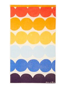 Dickins & Jones Multi dots beach towel