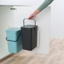 Brabantia Built in Bin `Sort & Go`, 2 x 12 litre