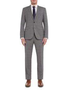 Hugo Jeffery Simmons Regular Fit Check Suit