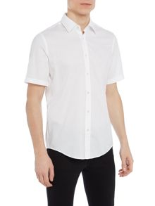 Hugo Boss Luka short sleeve textured shirt
