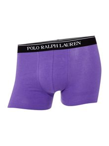 Polo Ralph Lauren 3 Pack Contrast Waistband Trunk