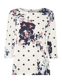 Flo Floral Printed Top
