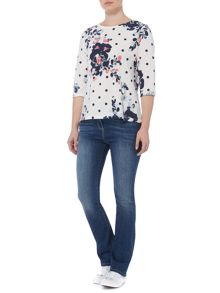 Dickins & Jones Flo Floral Printed Top