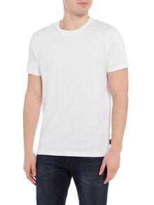 Jack & Jones Plain Crew-Neck Cotton T-Shirt