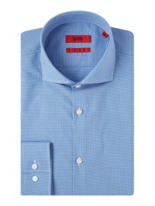 Hugo Jason Slim Fit Micro Gingham Shirt
