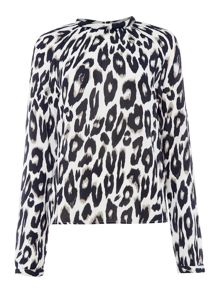 Vero Moda Rowena long sleeve high neck top
