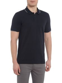 Hugo Boss Parlay 06 regular fit tipped polo shirt