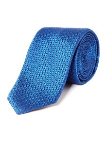 Hugo Textured Tonal Chevron Tie