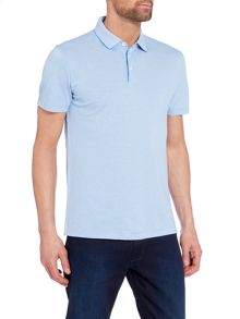 Hugo Boss Pack 09 regular fit micro pattern polo shirt