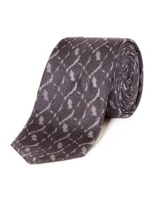 Hugo Textured Abstract Tie