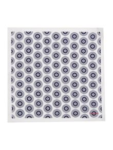 Ted Baker Geo Print Pocket Square