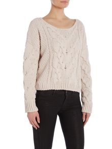 Free People Sticks and Stones pullover long sleeve top