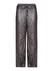 Free People So Sexy Sequin Just A Dreamer trouser in black