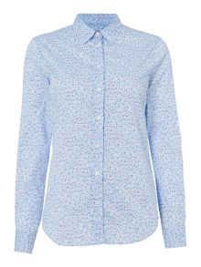 Gant Mini meadow floral stretch shirt