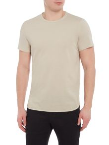 Selected Homme Pique Crew-Neck Short-Sleeve T-shirt