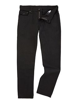 Geno slim fit nightfall stay black jeans