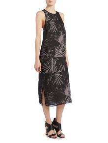 Label Lab Devore palm dress