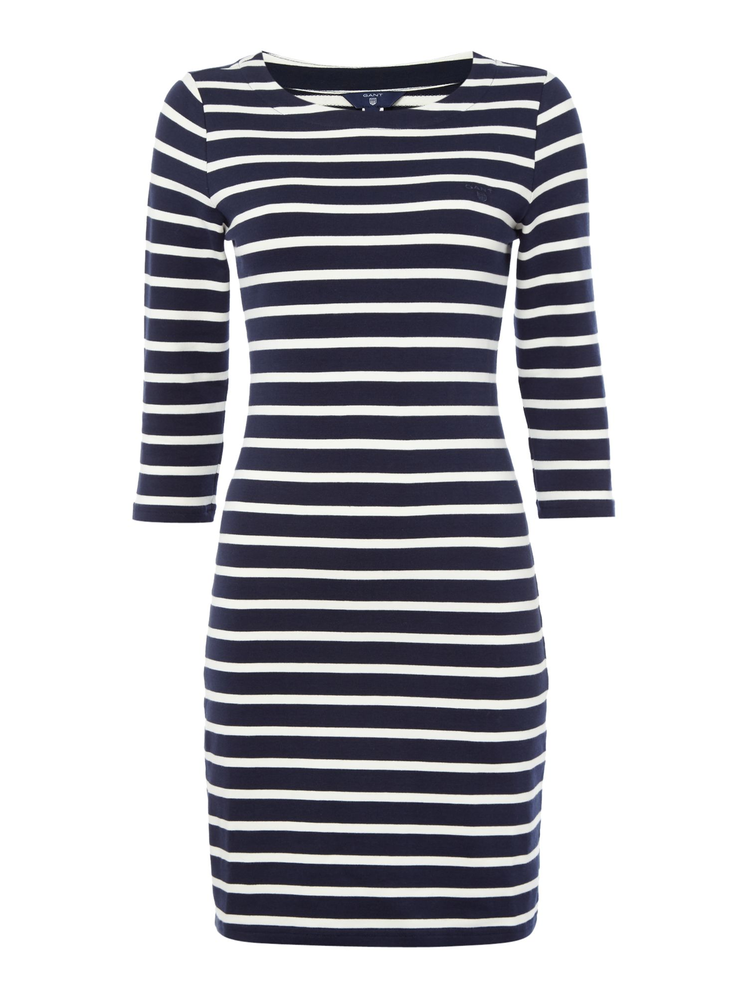 Gant Sailor jersey dress, Blue