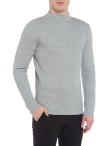 Selected Homme Rib-Knit Marl Jumper