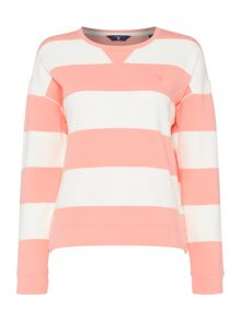 Gant Barstripe crew neck sweater