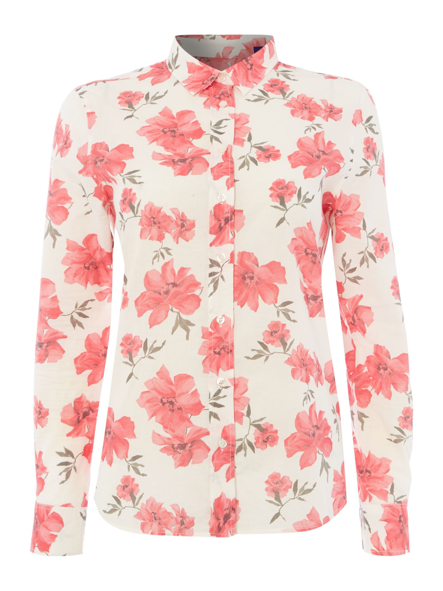 Gant Island flower shirt, Multi-Coloured
