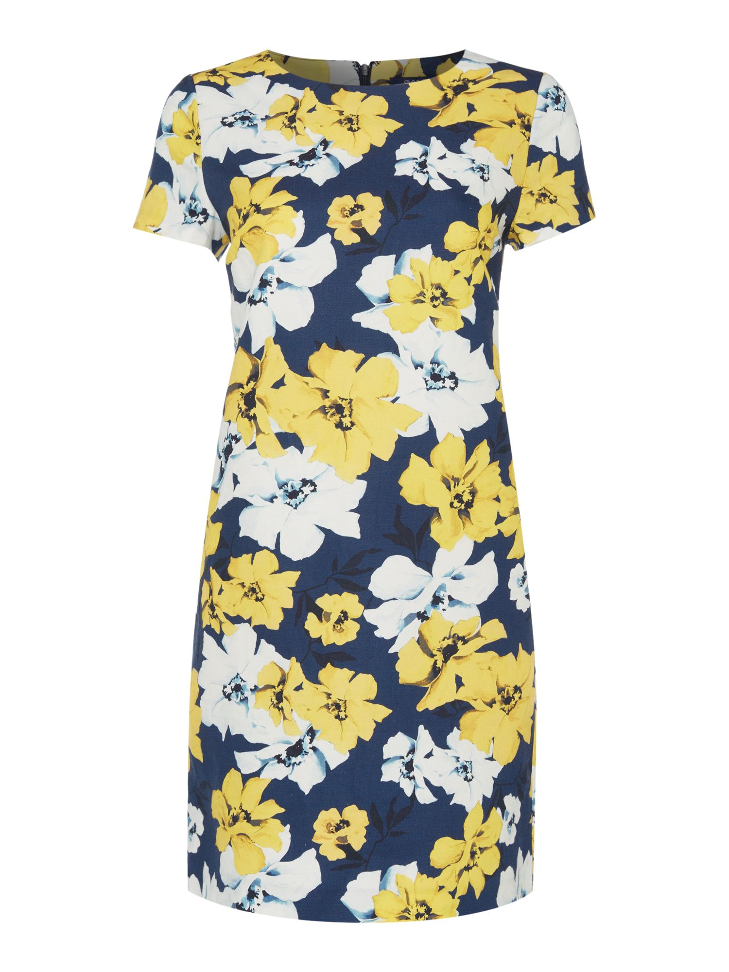 Gant Floral a line dress, Multi-Coloured