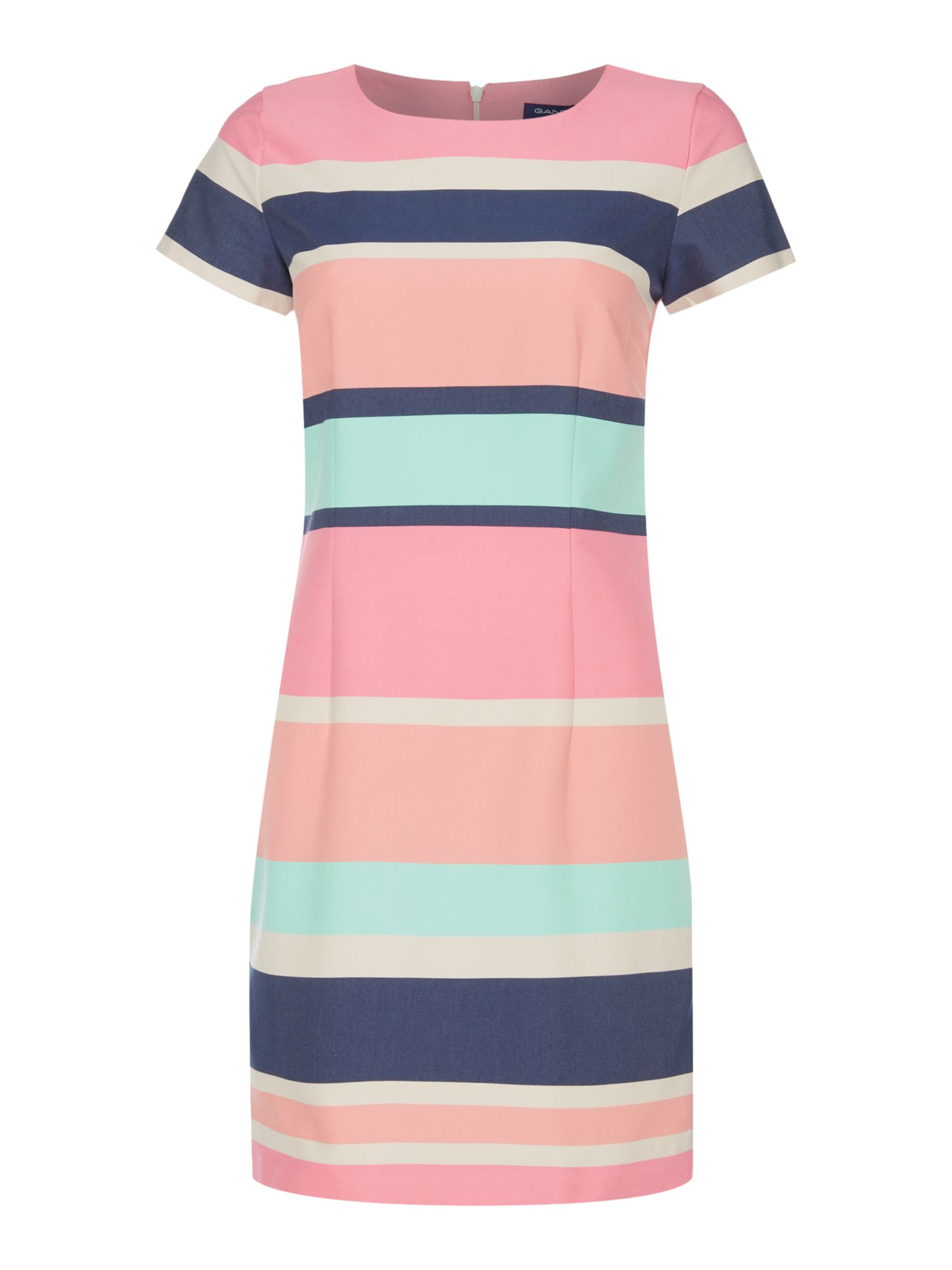 Gant Pastel shift dress, Multi-Coloured