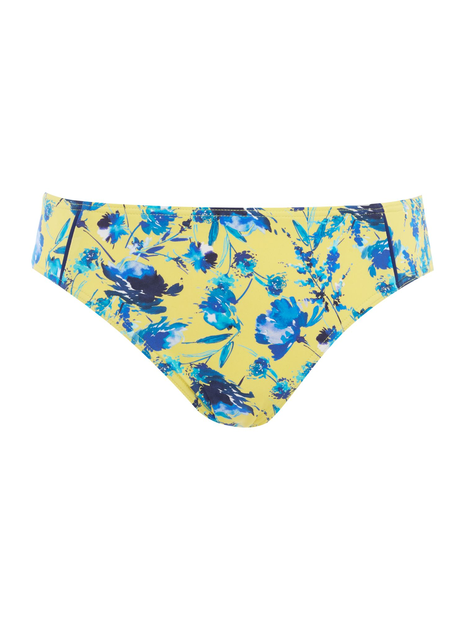 Dickins & Jones Summer floral brief, Yellow